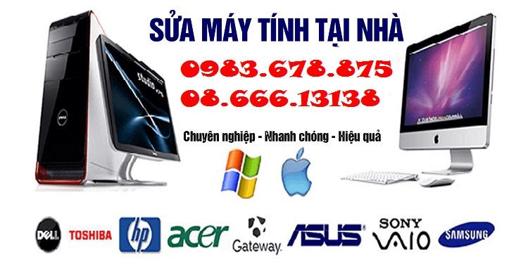 Sua may tinh tai nha Tran Phu–Ha Dong
