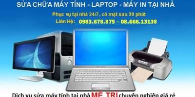 Dịch vụ sửa máy tính tại nhà Mễ Trì – Hà Nội