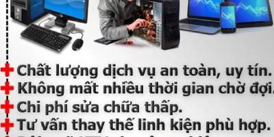 Sửa máy tính tại nhà Trần Phú – Hà Đông chất lượng nhất