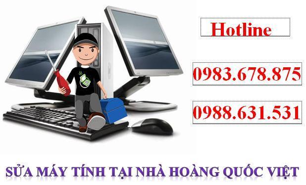 Sửa máy tính tại nhà Hoàng Quốc Việt – có mặt ngay sau 30 phút