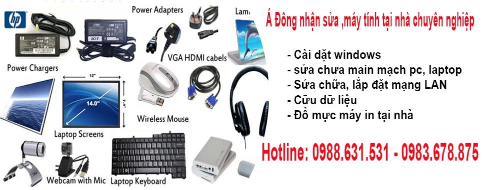 Sửa máy tính tại nhà Nguyễn XIển