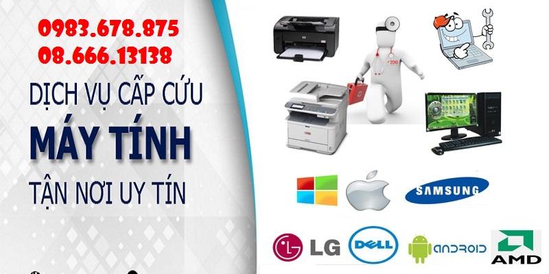 Sửa máy tính tại nhà Nguyễn Chí Thanh LH: 0988.631.531