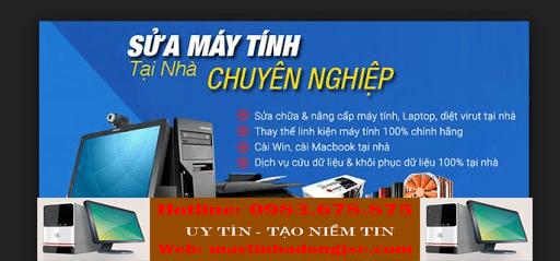Sửa máy tính tại nhà Quan Hóa chất lượng
