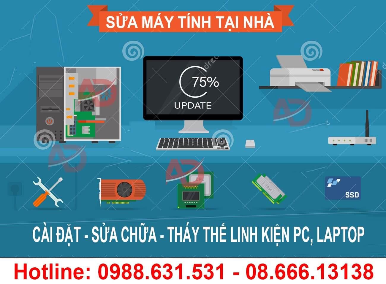 Sửa máy tính tại nhà Thanh Xuân Trung