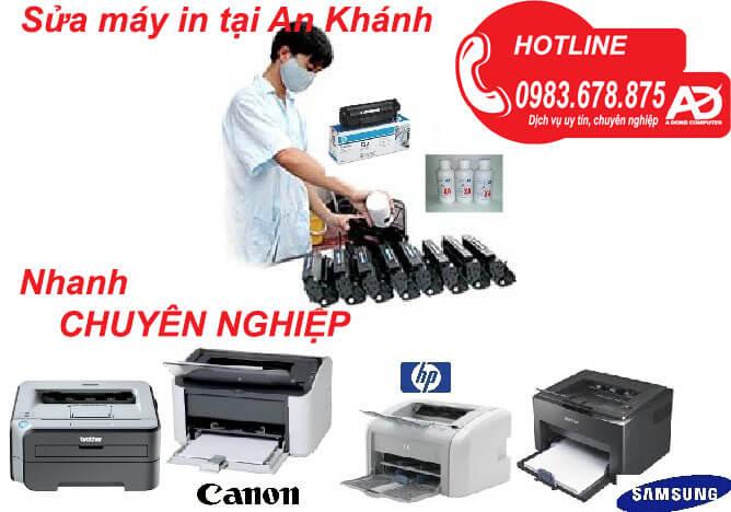 Sửa máy in giá rẻ tại Hà Nội