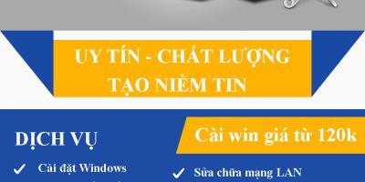 Sửa máy tính tại nhà Láng Thượng 30p có mặt