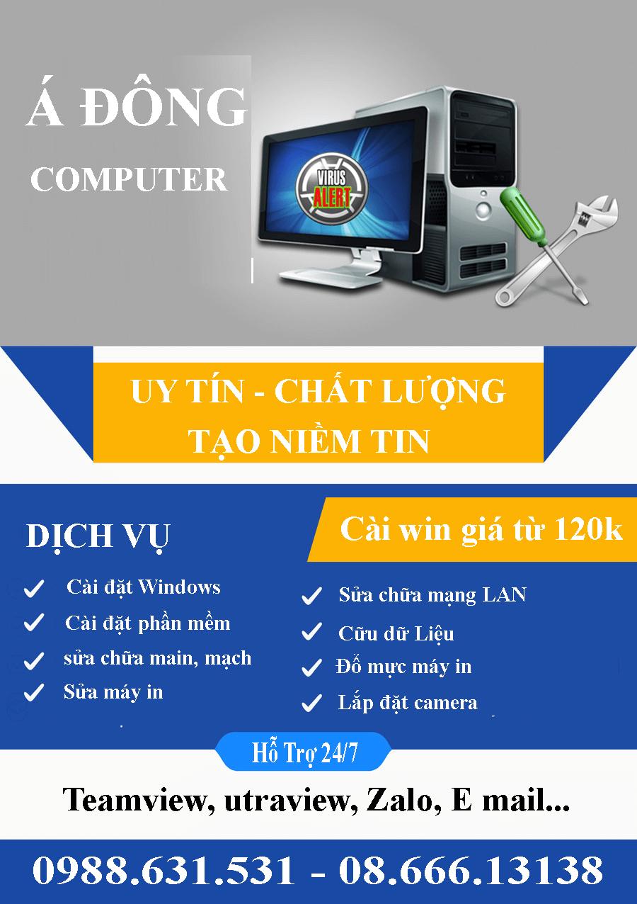 Trung tâm Sửa máy tính tại nhà láng Thượng giá rẻ