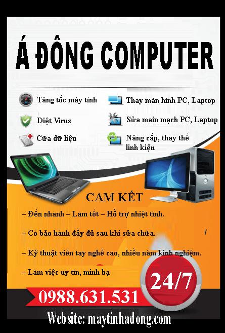 Sửa máy tính tại nhà láng Thượng uy tín