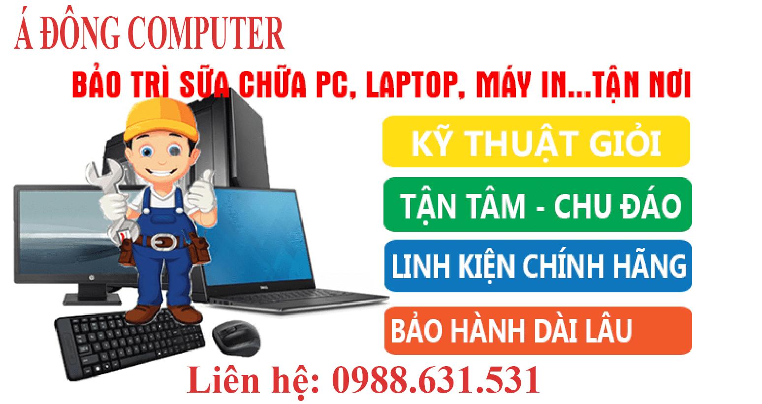 Sửa máy tính tại nhà Tân Mỹ Uy tín nhất