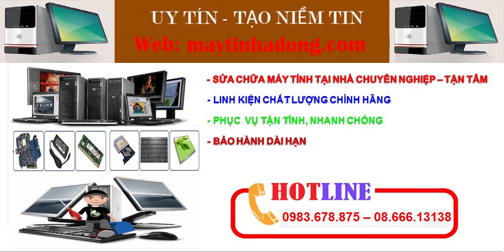 sửa máy tính tại nhà Nguyễn Khuyến uy tín