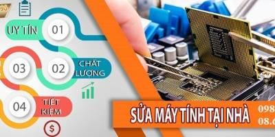 Sửa máy tính tại nhà Nguyễn Khuyến có mặt sau 30 phút